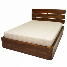 PLAIN BED WITH STORAGE
