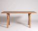 OLA DINING TABLE 172 CHAMFERED EDGE TOP