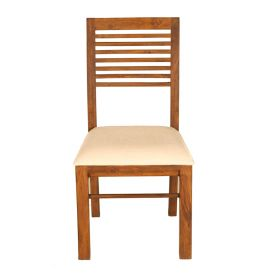 SEVEN STRIP DINING CHAIR WITH CUSHION